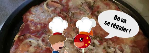Cuisine une pizza