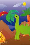 Dinosaure herbivore