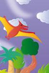 Ptérodactyle en vol