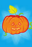 Petite citrouille d'Halloween