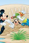 Jeux dans le sable