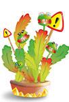 Famille de plantes carnivores