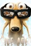 Scrat avec des lunettes 3D