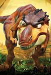 Le dinosaure furieux
