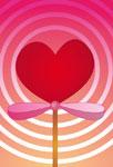 Sucette coeur