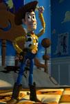 Woody sur le lit