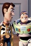 Buzz et Woody heureux