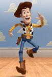 Woody qui court