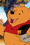 Winnie qui mange du miel