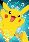 Pikachu qui saute
