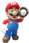 Mario qui fait du baseball