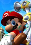 Mario prêt à s'envoler