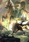 Link sur son cheval