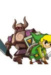 Link et le chevalier noir