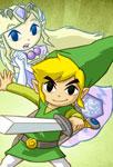 Link et l'esprit de Zelda