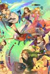 Link et d'autres héros