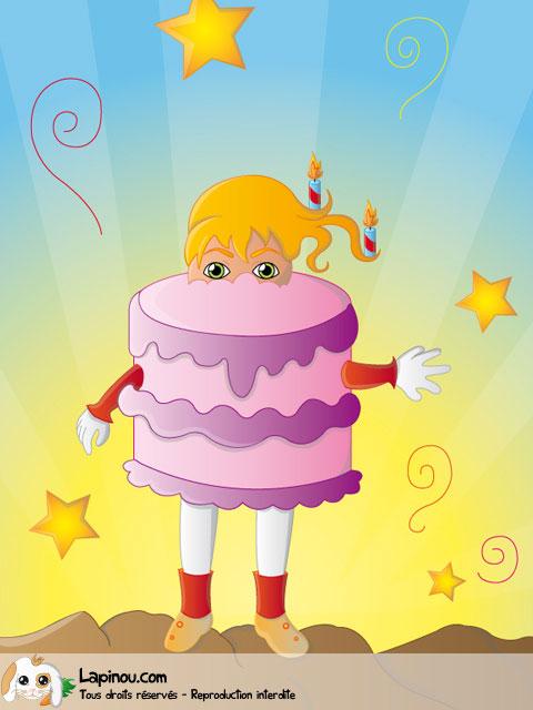 Gâteau vivant
