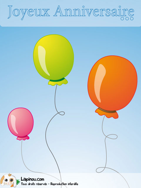 Trio de ballons