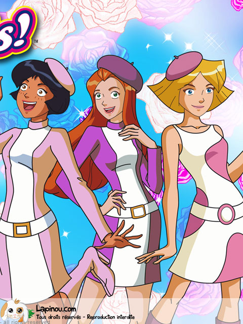 Totally Spies fashion