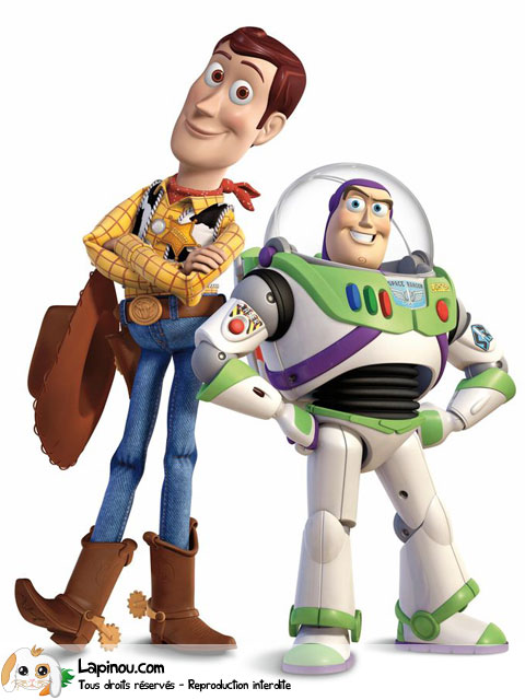 Woody et Buzz ensemble