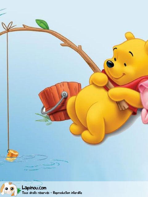 Winnie et Porcinet à la pêche