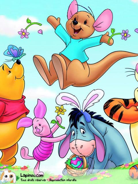 Winnie avec ses amis