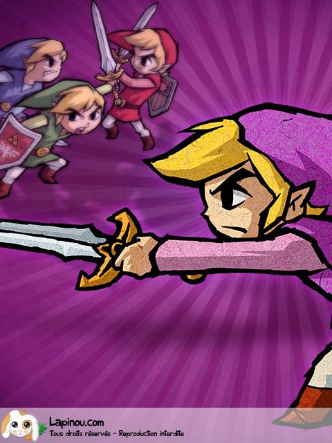 Link au combat