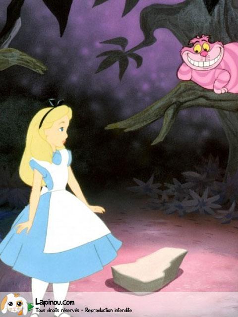 Alice et le Chat de Cheschire