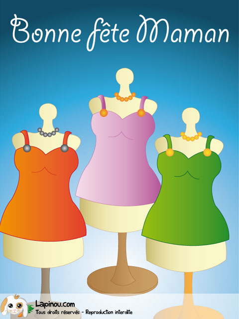 Mannequins en robes
