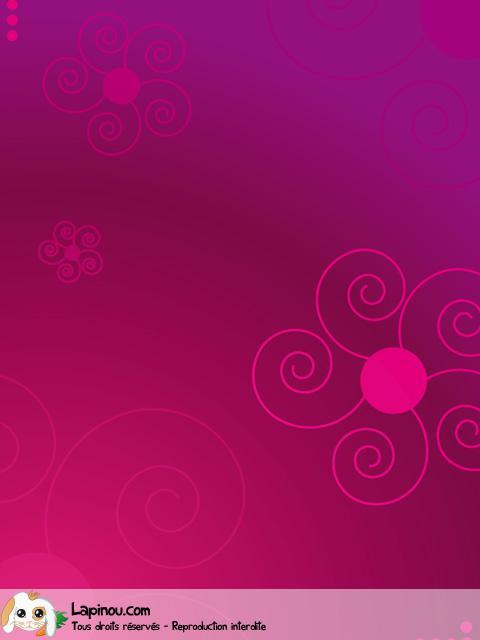 Fleurs en spirales