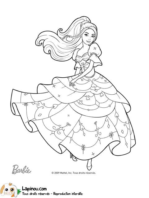 Corinne qui danse coloriages imprimer pour les enfants - Princesse qui danse ...