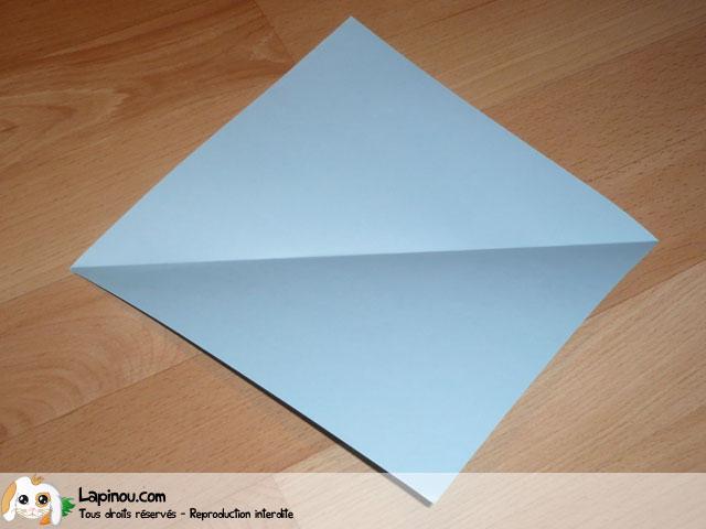 Baleine en origami