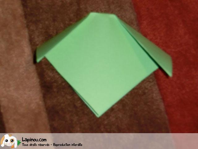 Lapin en origami