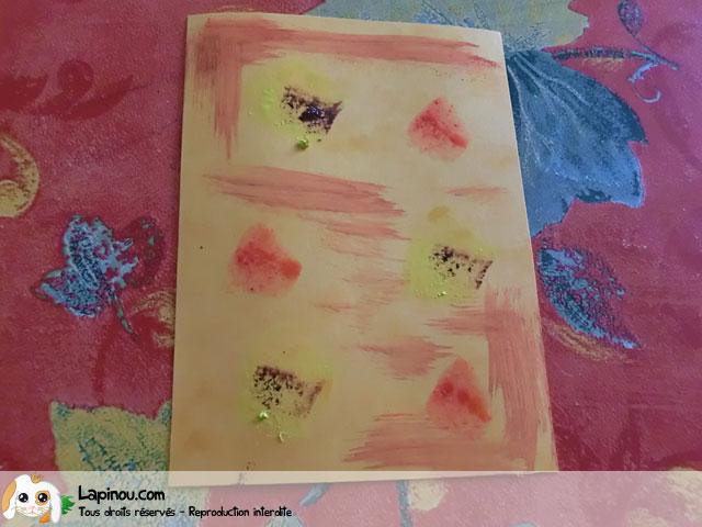 Carte art abstrait