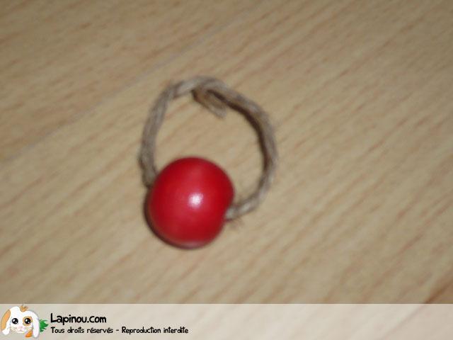Bague en perles