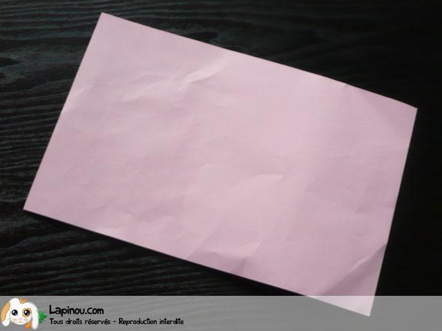 Eventail en papier