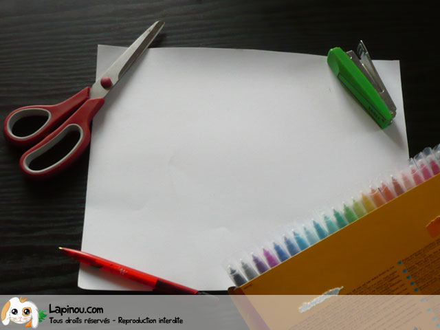 Masque en papier
