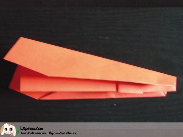 etape 7 deux ailes planeur en papier. Black Bedroom Furniture Sets. Home Design Ideas