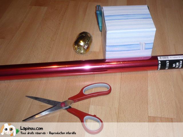 Paquet cadeau décoratif