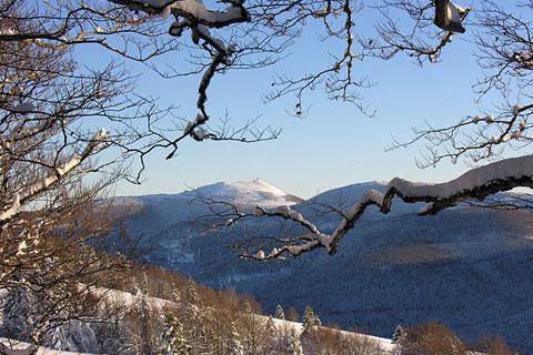 Observatoire et neige