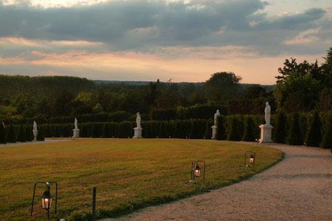 Crépuscule sur Versailles