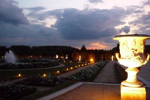 Les jardins de nuit
