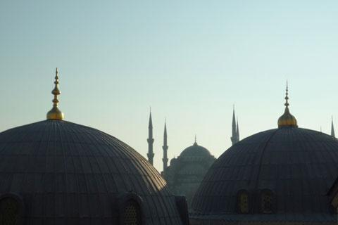 Les toits de Sultanahmet