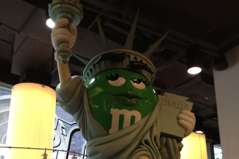 Magasin M&M's