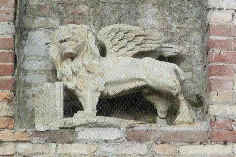 Le lion ailé de Venise