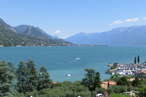 Panorama du lac