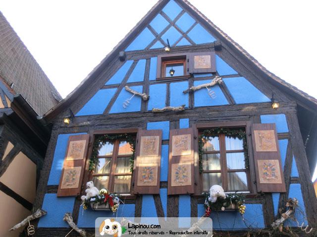 Fa ade d cor e pour no l vitrines et d corations de no l for Decoration de noel alsacienne