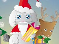 Habille Lapinou pour Noël