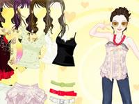 Habillage fashion pour l'été