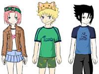 Habillage Naruto